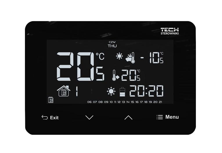 Laidinis įleidžiamas patalpos termostatas EU-293v3