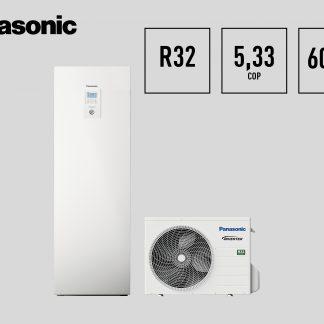 Panasonic J kartos šilumos siurbliai