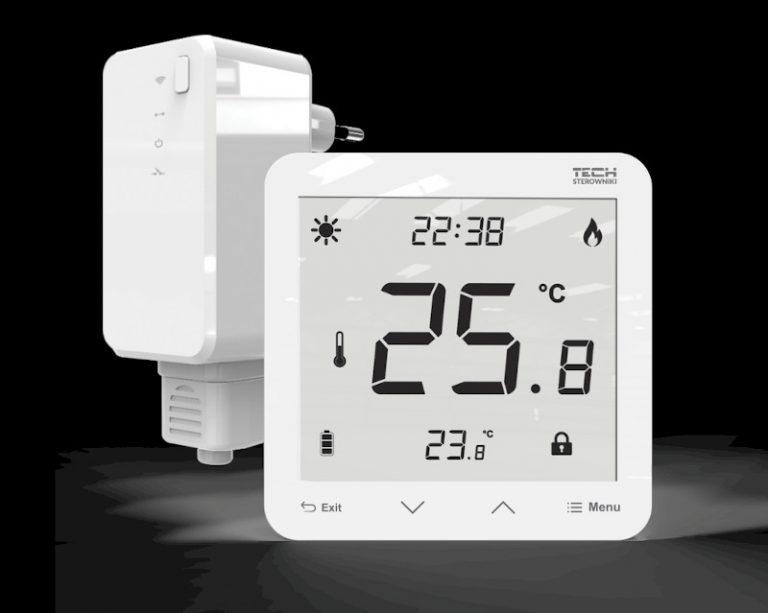 Bevielis įleidžiamas patalpos termostatas EU-297v2