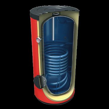 Vieno šilumokaičio vandens šildytuvas