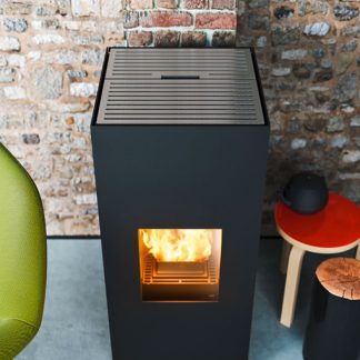 ducted pellet stove Aike