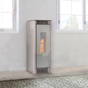 ducted pellet stove Rome
