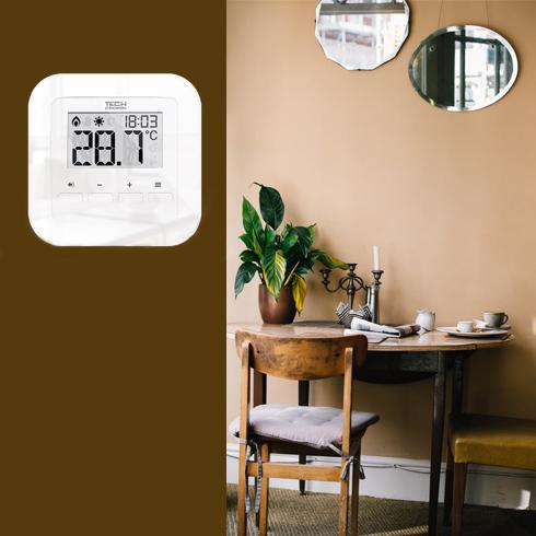 patalpos termostatas interjere
