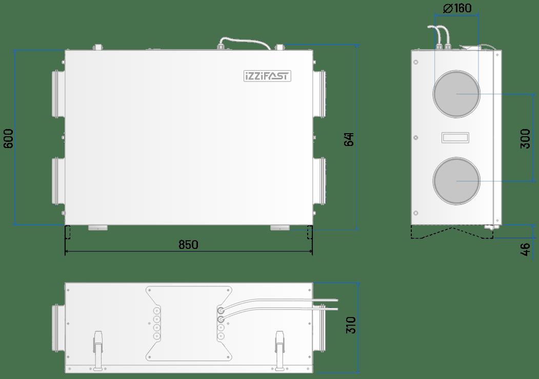 IzziFast matmenys