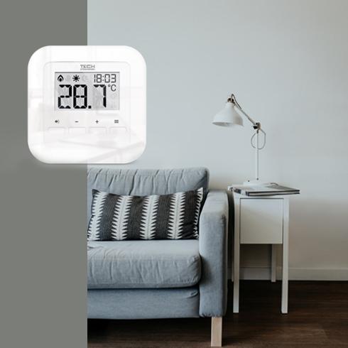 Eu-r-9 patalpos termostatas interjere